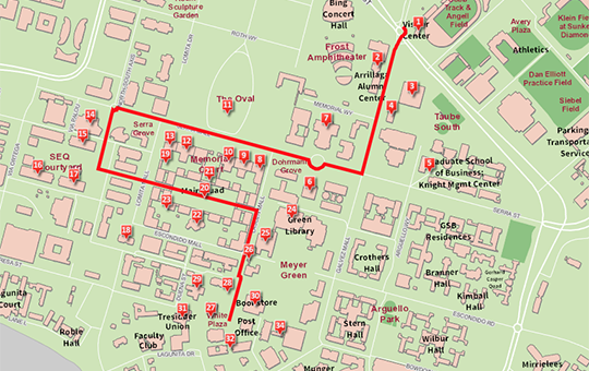 Pace Campus Map.Virtual Tours Freedom Stanford University